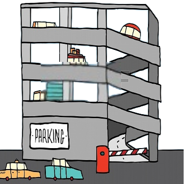Parking garage design by nextlesson edmodo for Garage design app